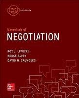 Wholesale 2016 Essentials of negotiation