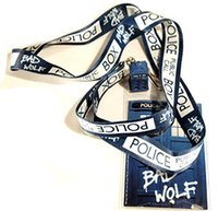 Wholesale Doctor Dr Who Police Box Lanyard Same Day Shipping