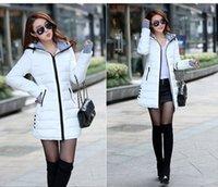Wholesale Winter Coat Women New Women Winter Jacket For Women Hooded Long Section Down Coat Slim Waist Thick Parkas Outwear