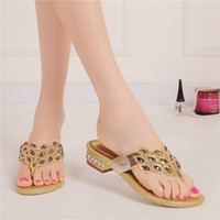 beach borders - 2016 beach wedding shoes gold sandals women slippers bridesmaid shoes prom shoes party shoes dinner shoes