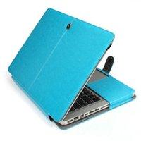 Wholesale Macbook pro portfolio case protective PU leather sleeve notebook laptop bag colors hot sale