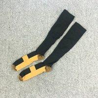 Wholesale mens sport socks Compression Socks SPORT Running Soccer Knee High Relief Climbing Walking Marathon Pair breathable compression long socks