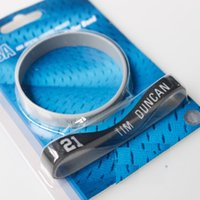 Wholesale High quality Two Tim Duncan Bracelet Silicone Bracelet Genuine Silicone wristbands Basketball Sport Bracelet