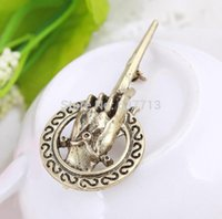Wholesale 500pcs New Arrival Hot Selling Song of Ice and Fire Game of Thrones Hand Of The King Pin Brooch