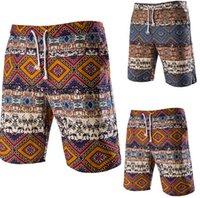 Wholesale 2016 New Swimming Shorts For Men Fashion Print Beach Shorts Casual Mens Boardshorts Bermuda Surf Shorts