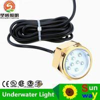 Wholesale Lowest Price Waterproof IP68 W Rate LED Underwater Marine Boat Drain Plug Light Brightest Lumens DC11 V