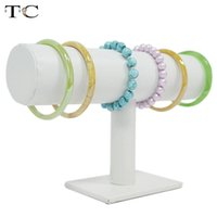 Wholesale Jewelry display bangle bar bracelet T bar white hight quality