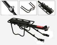 bicycle rack pannier - New Brand Adjustable aluminum Bike Rear Rack Carry Carrier Seatpost Mount Quick Release Bicycle pannier rack