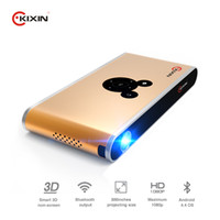 Wholesale 1080p full HD home theater D projector portable DLP LED pink gold silver color GHz CPU G G memory