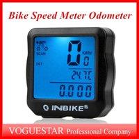 Wholesale Bike speedometer odometer computer waterproof cycling computers bicycle meter Clock Stopwatch Bicycle Accessories LCD multi function