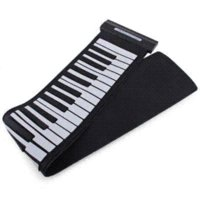 Wholesale Hot Sale Flexible Electronic Keyboard Organ Roll Up Piano Keys USB Midi Controller Silicone Best Gift for Piano Practitioners