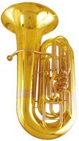 Wholesale 4 Piston Tuba Bb C Tone Height mm with Foambody Case EMS Musical Instruments