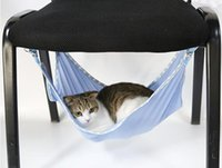Wholesale Breathable Mesh Summer Cat Hammock Pet Mats Pad Hide and Seek Game Accessories Soft and Comfortable