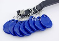 Wholesale pcs125Khz RFID Proximity ID Card Token Tags Key Keyfobs Access Control