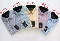 bamboo manufacture - The new pure color of men s shirts long sleeve shirts Men s shirts and cotton manufacturing leisure shirt