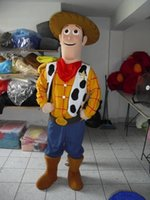 Wholesale Sheriff Woody Adult Unisex Cartoon Mascot Costume For Christmas Custom Made