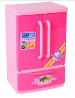Wholesale Refrigerator child toy mini appliances toy electric refrigerator