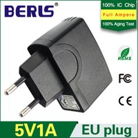 Wholesale BERLS Hot Sale V A mA USB Charger AC V Power Supply Adapter With EU Connector