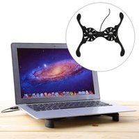 Wholesale USB Mini Octopus Laptop Notebook Fan Cooler Cooling Pad Folding Coller Fan With Retail Box