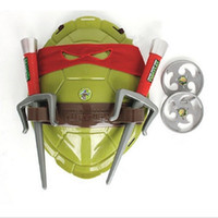 Wholesale Teenage Mutant Ninja Turtles Juguetes TMNT Armor Shell Weapon Armor Toys Swords Kids Suits Toy for Cosplay