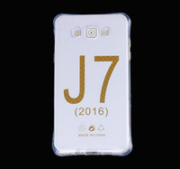 best case for galaxy - Best Quality Clear Cell Phone Cases for Samsung Galaxy J7 J5 J1 Airbag Anti Shock TPU Soft Mobile Phone Covers WZ0116