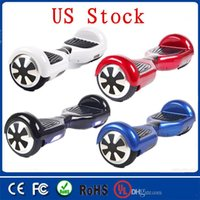 Wholesale US Stock Hoverboard Scooter Balance Scooters Wheel Self Balance Scooter Smart Drifting Scooter Wheel Fast Delivery