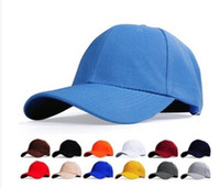 advertising baseball - Spot Thick Solid Blank Cap Hat Work Caps Advertising Cap Baseball Cap