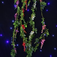 Wholesale Hydrangea vine grape flower wedding road lead square pavilion garden arches decoration props