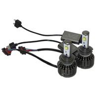 achat en gros de kit de brouillard xénon-2PC Plug Play H7 Voiture 60W 7600LM 6000K KIT XENON BLANCHE AMPOULE LED Phare Ampoule DRL DAYTIME CONDUITE FOG LIGHTS