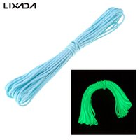 Wholesale 15 M FT Paracord Strand Cord Luminous Cord Night Shine Line Rope For Climbing Adds Emergency Survival