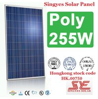 Wholesale Singyes Class A CE UL TUV CSA W Polysilicon Solar Panel Photovoltaic Module Polycrystalline Silicon Solar Cells Power Generating System