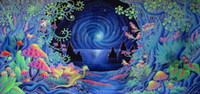 Wholesale GG01 Psychedelic Trippy Art Fabric Silk Poster Bedroom Room Decor x43inch