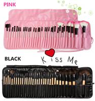 beauty facial kit - 32 pro makeup brush set Nude Makeup Brush Set beauty makeup tools Facial beauty set with color bags