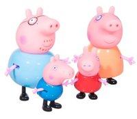 baby keepsakes - 4pcs set plastic pig toys PVC Action Figures Family Member pig Toy Juguetes Baby Kid Birthday Gift brinquedo Cartoon Movie