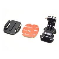 Wholesale GP57 Gopro Acessories J Hook Buckle Mount M Sticker Flat Mount for Go Pro HD Hero4 Session SJ4000 SJ5000 XiaoMi YI Camera