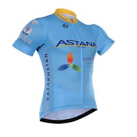 astana sleeves - 2016 ASTANA PRO TEAM BLUE ONLY SHORT SLEEVE ROPA CICLISMO SHIRT CYCLING JERSEY CYCLING WEAR SIZE XS XL