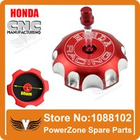 Wholesale Dirt bike Pit Bike Motorcross Aluminum CNC Alloy Fuel Gas Tank Cap Fit CRF XR250 R Series