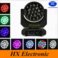 bee room - Freeshipping Sample Big Bee Eye Led Moving Head Light W RGBW IN1 Color Mixing W Led Lamp with Zoom Function DMX512
