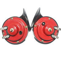 Wholesale v dB Hz Auto Truck Dual Snail Horn High low Car Motor Vehicle Auto Pair
