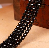 Wholesale mm round black and white Austrian crystal beads charm loose beads DIY jewelry for a variety of decorative
