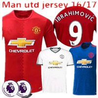 autumn homes - new thai quality MancHESTER Soccer Jerseys Uniforms home unITED IBRAHIMOVIC POGBA Rooney Jerseys football shirts