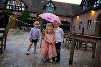 baby christening gown pattern - 2016 Cute Rose Flower Pattern Flowetr Girl Dress Wedding Party Dress for Baby Girls A line Mid Calf Long Tank Scoop Flower Girl Dresses