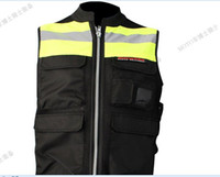 Wholesale pro biker motorcycle jacket high visibility vest motorcycle off road automobile race vest
