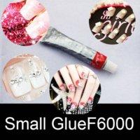 Wholesale Buy send glue F6000 Nail Art Rhinestone Crystal AB Color SS3 mm Non Hotfix Flatback Crystal Stones