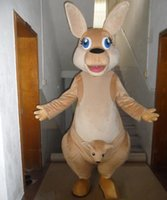 baby kangaroo costume - kangaroos costumes real picture a brown kangaroo mascot costume with baby kangaroo for adult to wear
