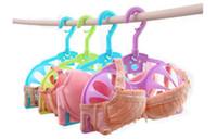 Wholesale 3pcs Per Bra Hangers Anti Deformation Deformation Resistance Clothes Rack Hangers New Design House Ware R0101011