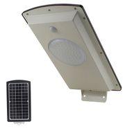 Precio de Las luces de carga-2016 nuevas llegadas de DHL alto lumen del sensor de movimiento 8w alto brillo libre del envío llevó luces integrado de carga luz de calle solar