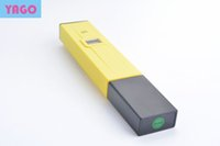 yellow aquarium plumbing - 300pcs Aquarium metr PH Digital PH Meter water quality Tester Pocket Pen