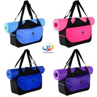 Wholesale 24x48x10cm tommy women yog mat bag mac design sports bag mochila pilates