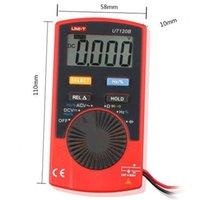 Wholesale UNI T UT20B Handheld Pocket Mini Digital Multimeter DMM Ohmmeter Voltmeter Ammeter AMP Volt Current OHM Test INS_50P